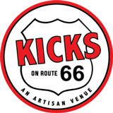 Kicks on Route 66 Logo